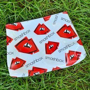 Smashbox Red Lip💋 Cosmetics Bag